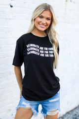 Dress Up model wearing the Saturdays Are For Football Tee