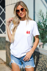 White - Ain't Nothing Finer Pocket Tee
