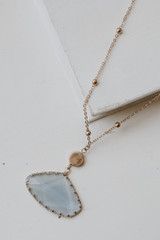 Gold - Stone Necklace from Dress Up