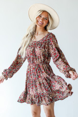 Floral Dress Front View