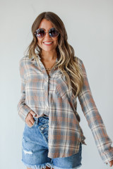 Flannel Front View
