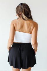 Lounge Shorts in Black Back View