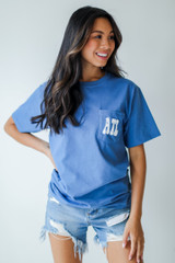 Denim - Everything Is Better In Atlanta Pocket Tee from Dress Up