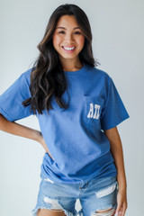 Model wearing the Everything Is Better In Atlanta Pocket Tee
