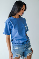 Everything Is Better In Atlanta Pocket Tee Side View