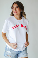 Play Ball Tee Front View