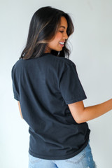 Nash Star Graphic Tee in Black Back View