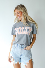 Model wearing the Dolly Graphic Tee