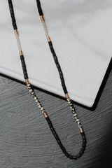 Black - Beaded Necklace from Dress Up