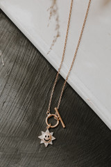 Gold - Smiley Face Necklace from Dress Up