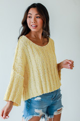 Yellow - Sweater from Dress Up
