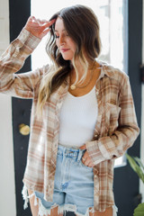 Taupe - Flannel