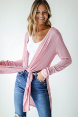 Blush - Ribbed Lightweight Cardigan from Dress Up