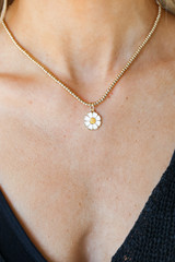 Gold - Daisy Necklace