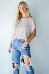 Blush - Knit Tee from Dress Up