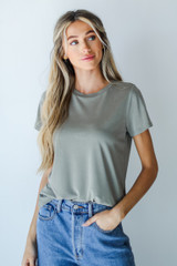 Olive - Dress Up model wearing an Everyday Tee