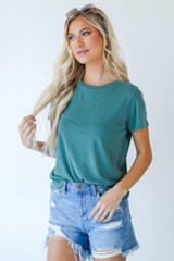 Teal - Everyday Tee Front View