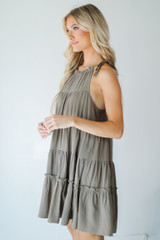 Tiered Dress Side View