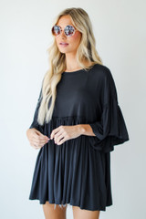 Oversized Babydoll Top Front View