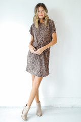 Leopard - Tie-Front Dress from Dress Up