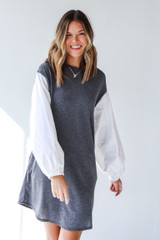 Charcoal - Knit Dress from Dress Up