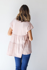 Tiered Top Back View