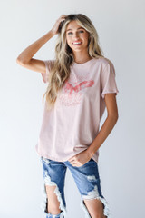 Dress Up model wearing the Rock And Roll Graphic Tee