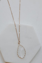 Gold - Gemstone Necklace from Dress Up
