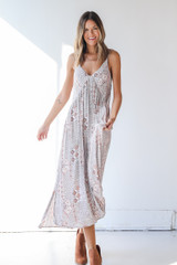 Maxi Dress Front View on model