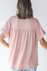 Henley Top Back View