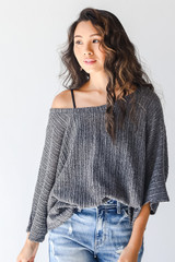 More Than It Seems Loose Knit Top