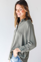 Button-Up Blouse Side View