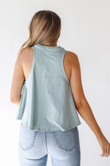 Everyday Tank in Sage Back View
