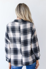 Flannel Back View