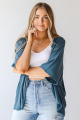 Teal - Cardigan from Dress Up