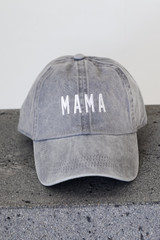 Grey - Mama Embroidered Hat from Dress Up
