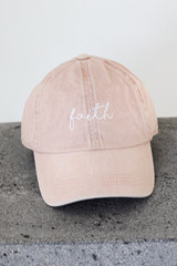 Blush - Faith Embroidered Hat from Dress Up