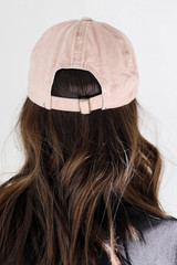 Faith Embroidered Hat Back View