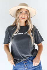Woman Of God Tee Front View