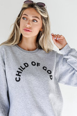 Heather Grey - Child Of God Pullover from Dress Up