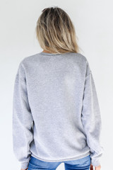 Heather Grey Child Of God Pullover Back View