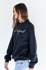 God Is Good Pullover Side View