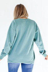 Woman Of God Pullover Back View
