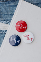 Red - Chop Chop Button from Dress Up