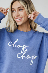 Blue - Chop Chop Pullover from Dress Up