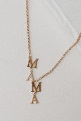 Gold - Necklace from Dress Up