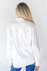 Button-Up Blouse Back View