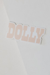 Blush - Dolly Sticker from Dress Up