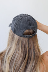 Nash Embroidered Hat Back View