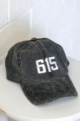Black - 615 Embroidered Hat from Dress Up